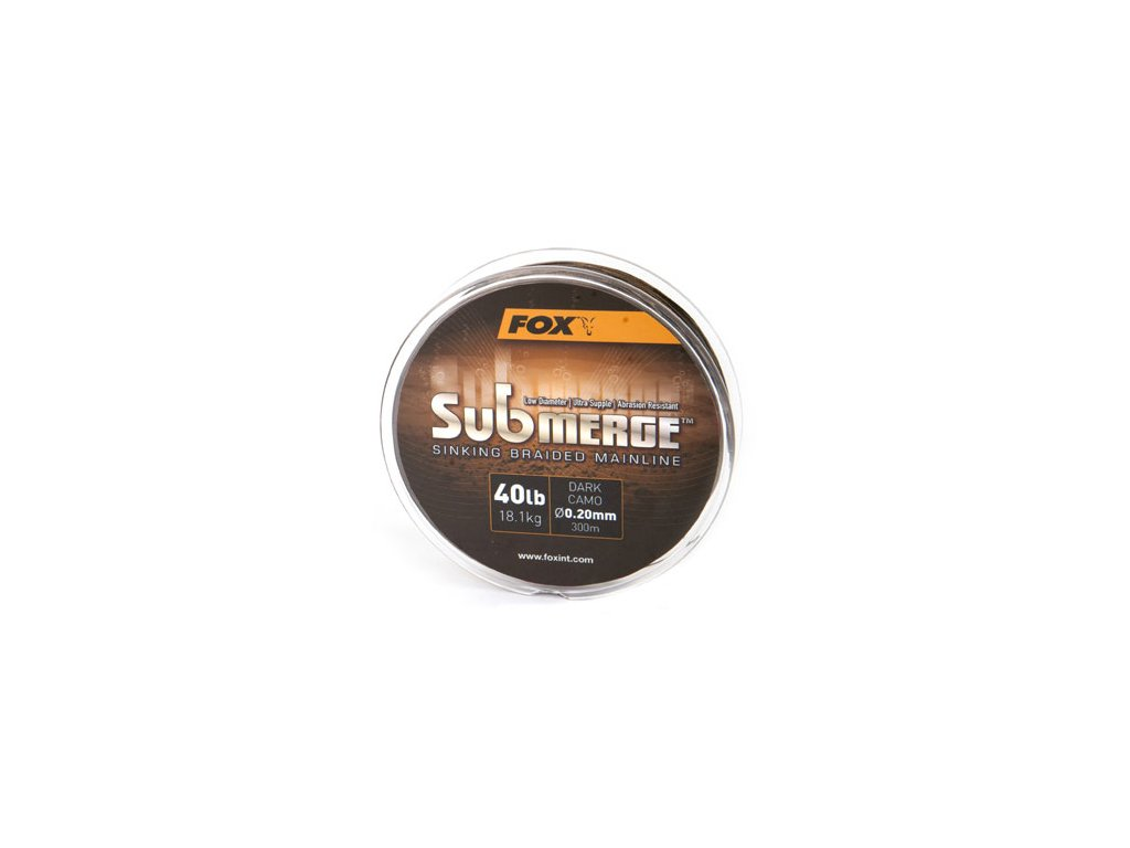 Submerge™ Sinking Braided Mainline (Varianta Submerge™ Sinking Braided Mainline - Dark Camo 25lb/0.16mm 300m)