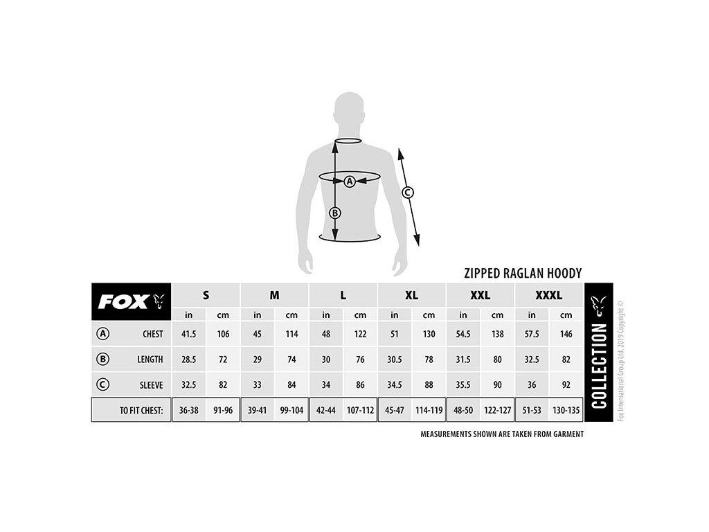 Fox Collection Green & Silver Lightweight Hoodie (Varianta XXX Large)