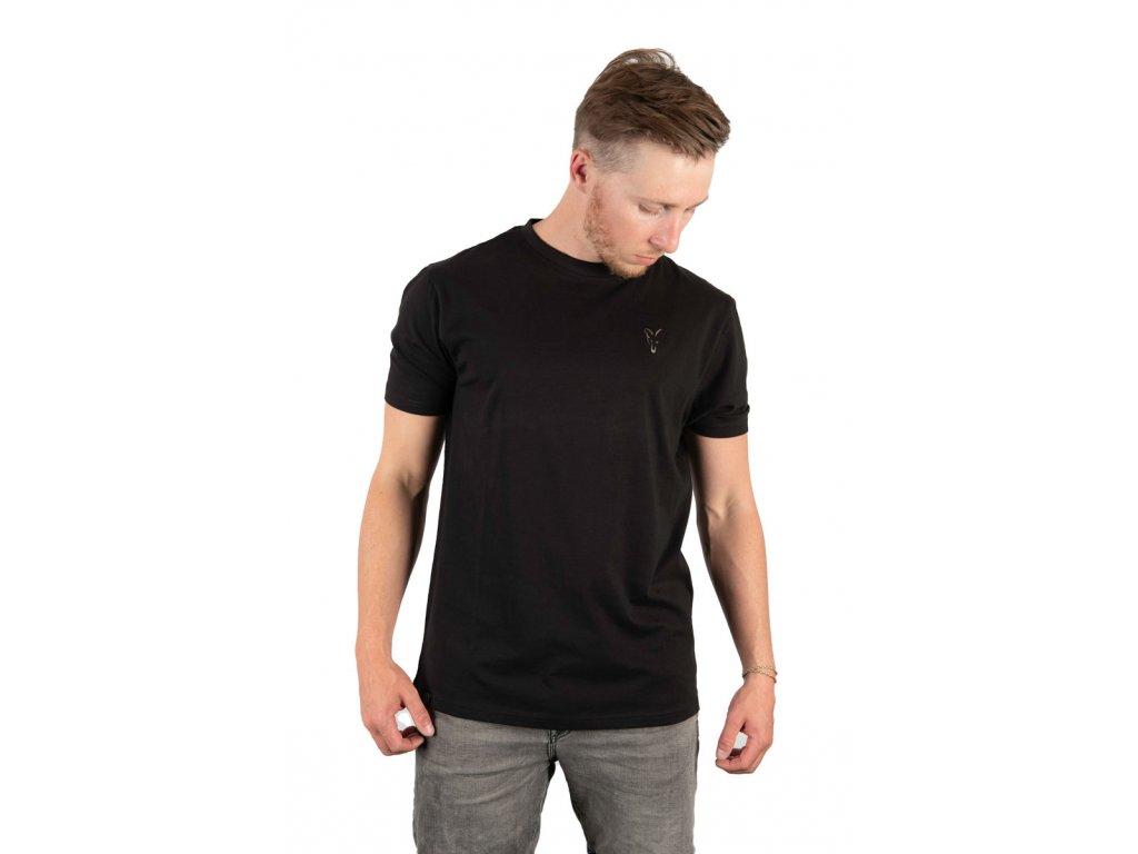 Fox Black T-Shirt (Varianta XXX Large)