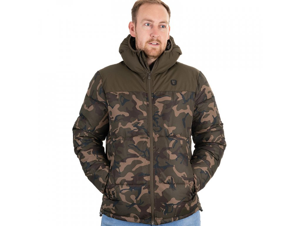 FOX Camo/Khaki RS Jacket (Varianta Small)