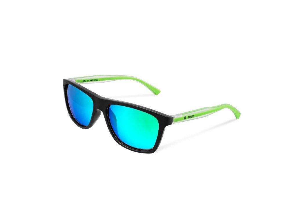 Polarizační brýle Delphin SG TWIST zelená skla