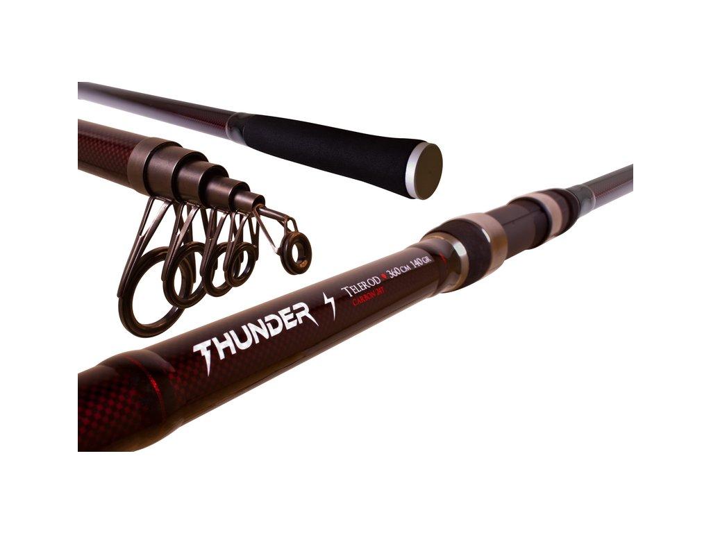 THUNDER TELEROD (Varianta THUNDER TELEROD - 360cm/do 140g)