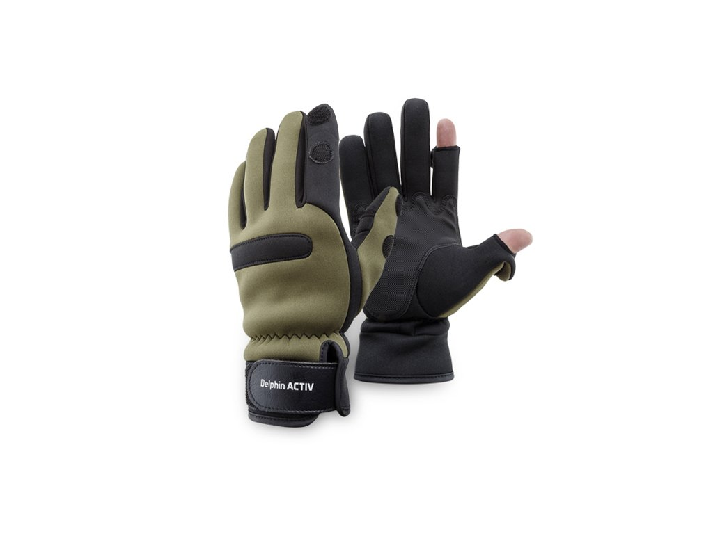 Neoprenový rukavice Delphin ACTIV (Varianta Neoprenový rukavice Delphin ACTIV - L)