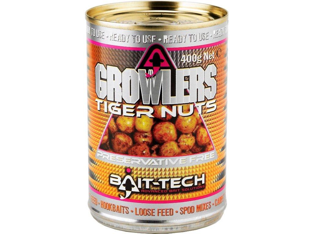 Bait-Tech Tygří ořech v nálevu Growlers Tiger Nuts 400g