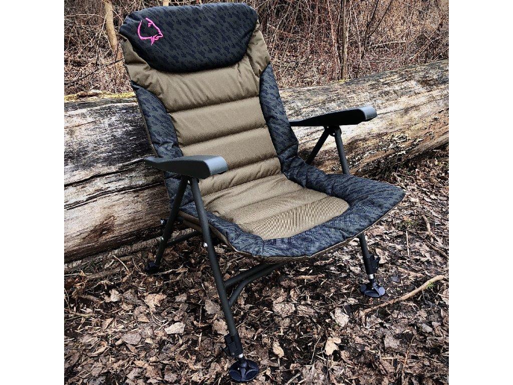 LK Baits Křeslo Arm Neopren Chair