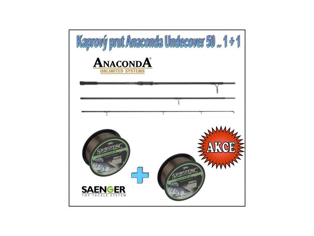 kaprovy prut anaconda undecover 50 1 1