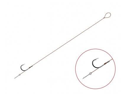 Feederový návazec Delphin Proxi 8 Sting / 6ks (Varianta Feederový návazec Delphin Proxi 8 Sting / 6ks - 8cm #8)