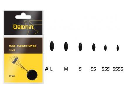 Olive - Rubber stopper (Varianta Olive - Rubber stopper - SSSS)