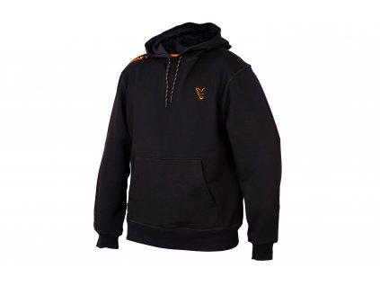 Fox Collection Orange & Black Hoodie (Varianta Small)