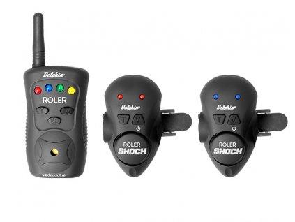 Sada signalizátorů Delphin ROLER SHOCK (Varianta Sada signalizátorů Delphin ROLER SHOCK - 2+1)