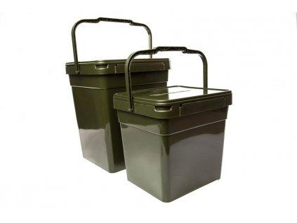 RidgeMonkey Modular Bucket-kýbl a 2ks boxy|XL