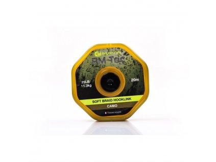 RidgeMonkey RM-TEC Soft Braid jemná pletená šňůrka 25lb/20m camo