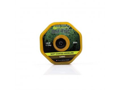 RidgeMonkey RM-TEC Soft Coated potahovaná šňůra 25lb/20m camo