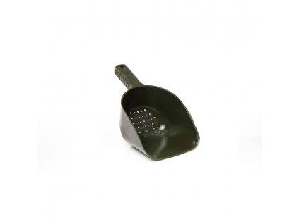 RidgeMonkey Lopatka  Bait Spoon Holes XL zelená s dírkami