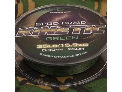 Gardner Splétaná šňůra Kinetic Spod Braid, 250m, 35lb (15.9kg) 0.36mm