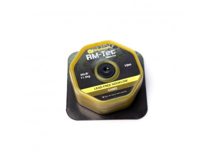 RidgeMonkey Lead Free Hooklink 25lb/10m, Camo (RM-T039)