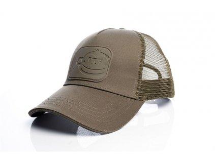 RidgeMonkey kšiltovka APEarel Dropback Trucker Cap|hnědá