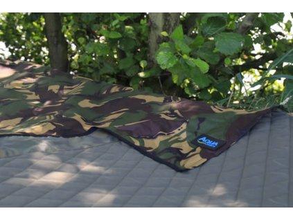 Nepromokavý přehoz - Camo Bedchair Cover (Varianta Aqua Nepromokavý přehoz - Camo Bedchair Cover)