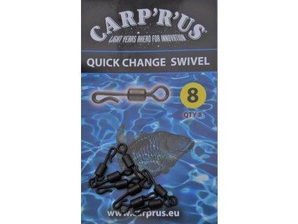 Quick change swivel (Varianta Quick Change Swivel - size 8, 8pcs)