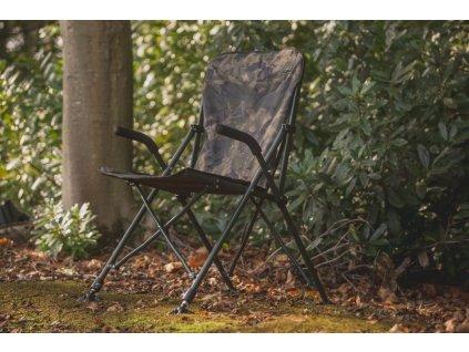 Solar - Křeslo - Undercover Camo Foldable Easy Chair - High (Varianta Solar - Křeslo - Undercover Camo Foldable Easy Chair - High)