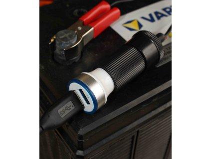 Zásuvka autozapalovače (Varianta Adaptér autobaterie - zásuvka 12/24V)