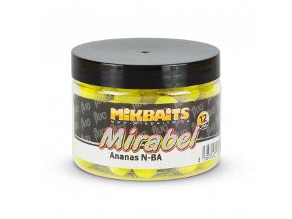 Mirabel Fluo boilie 150ml - Ananas N-BA 12mm