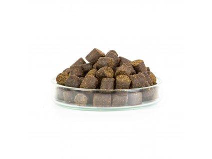 Pelety 10kg combo - Pstruží granule 8mm + 100ml lososový olej