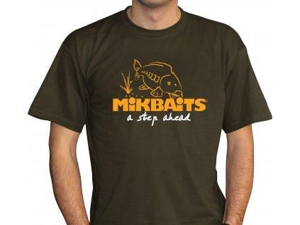 Mikbaits oblečení - Tričko Fans team zelené M