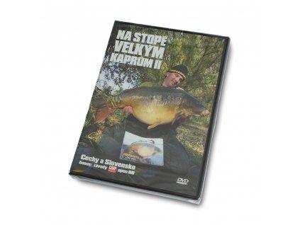 Mikbaits DVD, knihy - DVD Na stopě velkým kaprům II
