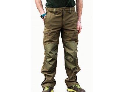 Mikbaits oblečení - Nepromokavé funkční kalhoty Mikbaits STR zelené S