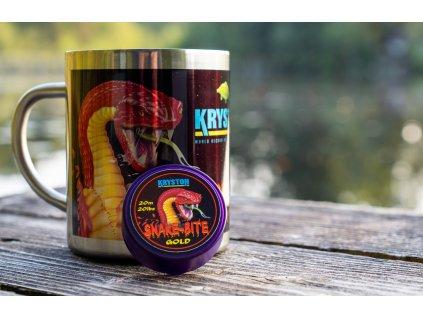 Kryston příslušenství - Nerezový hrníček SnakeBite