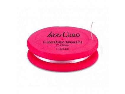elasticky vlasec d shot elastic dancer line