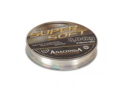anaconda super soft fluorocarbon 50m 036mm