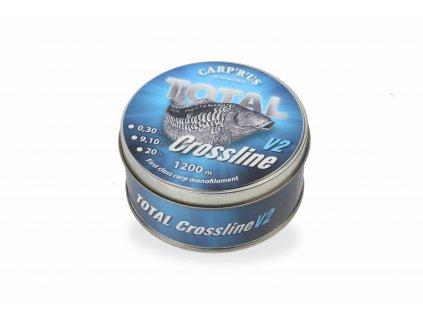 Carp´R´Us vlasec Total Crossline V2 – Brown (Varianta Total Crossline V2 – Brown 0,35mm 1200m 11,34kg/ 25lb)