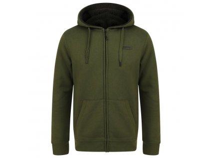 Navitas: Mikina Sherpa Zip Hoody Green Velikost XL