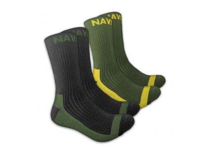 Navitas: Ponožky Coolmax Crew Sock Twin Pack Velikost 41-45
