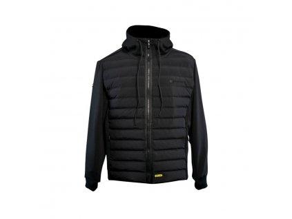 RidgeMonkey: Bunda APEarel Dropback Heavyweight Zip Jacket Black Velikost M