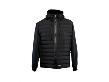 RidgeMonkey: Bunda APEarel Dropback Heavyweight Zip Jacket Black Velikost S