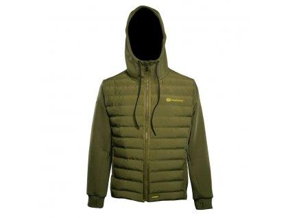 RidgeMonkey: Bunda APEarel Dropback Heavyweight Zip Jacket Green Velikost S