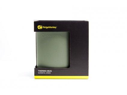 RidgeMonkey: Hrnek ThermoMug Gunmetal Green