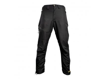 RidgeMonkey: Kalhoty APEarel Dropback Heavyweight Trousers Black Velikost XXXL