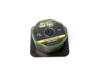 RidgeMonkey: Šňůrka RM-Tec Lead Free Hooklink 25lb 10m Weed Green