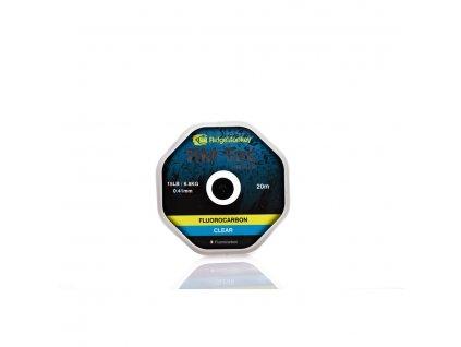 RidgeMonkey: Vlasec RM-Tec Fluorocarbon 0,47mm 20lb 20m Čirý