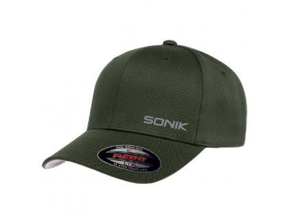 Sonik: Kšiltovka Sonik Flexfit Olive Cap
