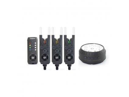 Sonik: Sada hlásičů Gizmo 3+1 Alarm + Bivvy Lamp