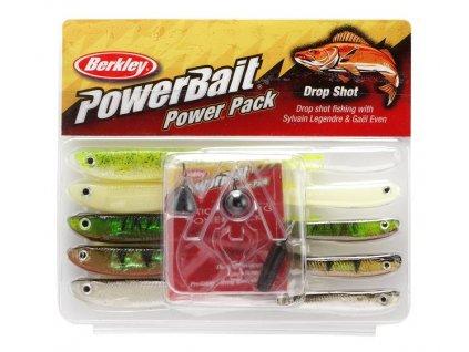 Sada gumových nástrah a jigových hlaviček Berkley Pro Pack Dropshot (Varianta Sada gumových nástrah a jigových hlaviček Berkley Pro Pack Dropshot)