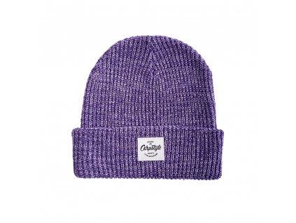 Zimní Čepice Carpstyle Purple Beanie (Varianta Zimní Čepice Carpstyle Purple Beanie)