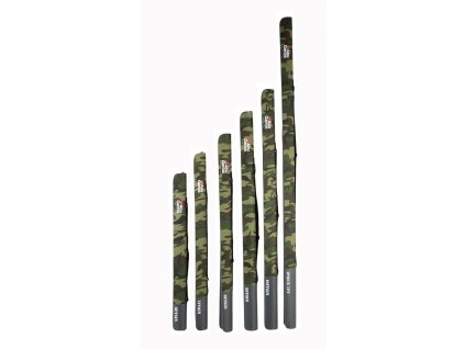 Pouzdro na prut Abu Garcia Semi Hard Rod Case Camo Japan 125cm (Varianta Pouzdro na prut Abu Garcia Semi Hard Rod Case Camo Japan 125cm)