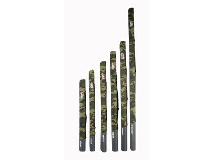 Pouzdro na prut Abu Garcia Semi Hard Rod Case Camo Japan 140cm (Varianta Pouzdro na prut Abu Garcia Semi Hard Rod Case Camo Japan 140cm)
