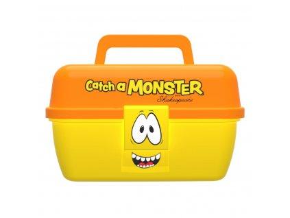Dětský kufřík Shakespeare Catch a Monster Yellow Tackle Box (Varianta Dětský kufřík Shakespeare Catch a Monster Yellow Tackle Box)